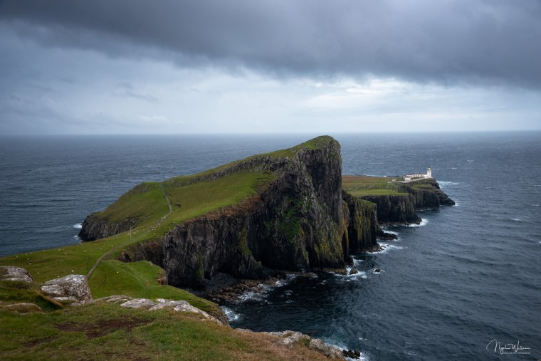 Open Edition Seascape print of Neist Point and Lighthouse